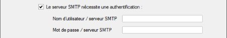 anti spam authentification smtp
